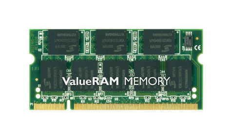 Kingston Technology ValueRAM 1GB 400MHz DDR Non-ECC CL3 (3-3-3) SODIMM 1GB DDR 400MHz memoria