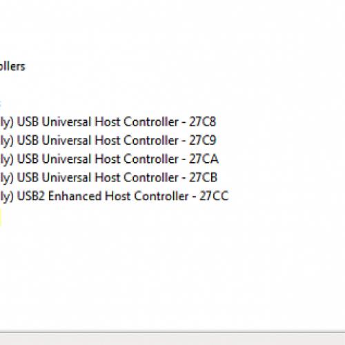 Errore driver USB e CD in USBStor.inf e CDrom.inf